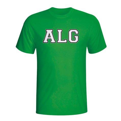 Algeria Country Iso T-shirt (green) - Kids
