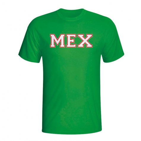 Mexico Country Iso T-shirt (green)