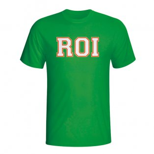 Ireland Country Iso T-shirt (green) - Kids