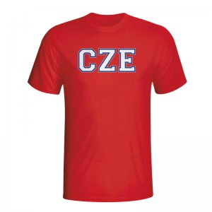 Czech Republic Country Iso T-shirt (red) - Kids