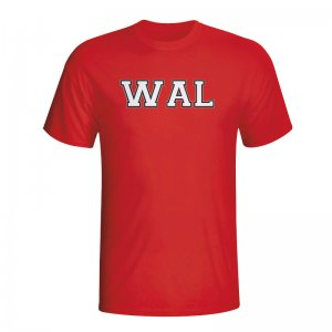 Wales Country Iso T-shirt (red) - Kids