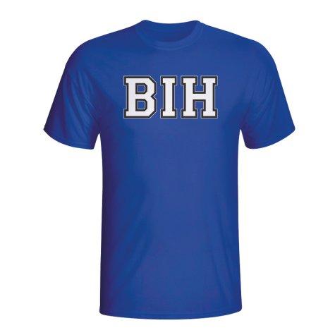 Bosnia Country Iso T-shirt (blue) - Kids