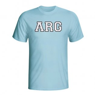 Argentina Country Iso T-shirt (sky Blue) - Kids