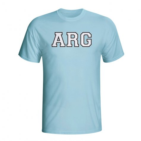 Argentina Country Iso T-shirt (sky Blue)