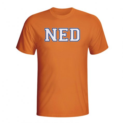 Holland Country Iso T-shirt (orange) - Kids