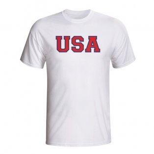 Usa Country Iso T-shirt (white) - Kids