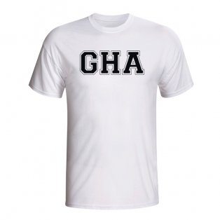 Ghana Country Iso T-shirt (white) - Kids