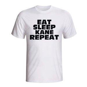 Eat Sleep Kane Repeat T-shirt (white)