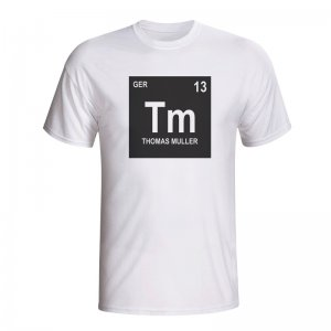 Thomas Muller Germany Periodic Table T-shirt (white) - Kids