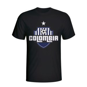 Colombia Country Logo T-shirt (black) - Kids