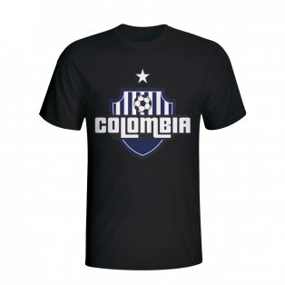 Colombia Country Logo T-shirt (black)
