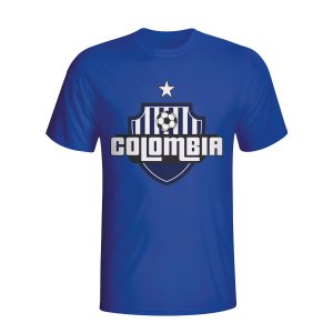 Colombia Country Logo T-shirt (blue)