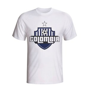 Colombia Country Logo T-shirt (white) - Kids