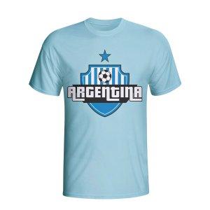 Argentina Country Logo T-shirt (sky Blue) - Kids