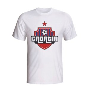 Croatia Country Logo T-shirt (white)