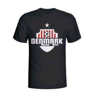 Denmark Country Logo T-shirt (black) - Kids