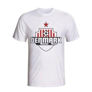 Denmark Country Logo T-shirt (white) - Kids