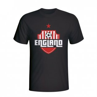 England Country Logo T-shirt (black)