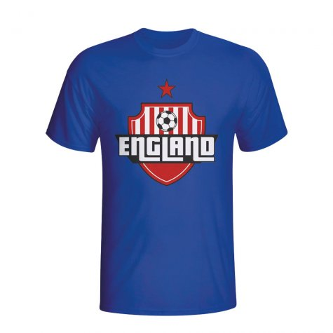 England Country Logo T-shirt (blue) - Kids