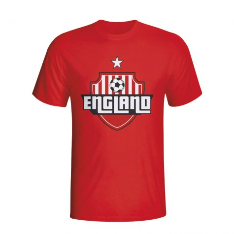 England Country Logo T-shirt (red) - Kids