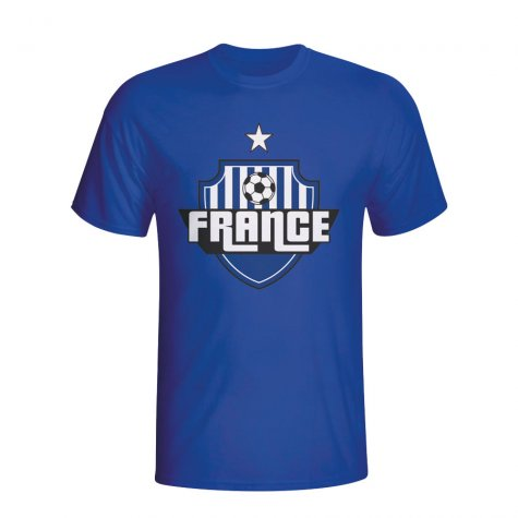 France Country Logo T-shirt (blue)