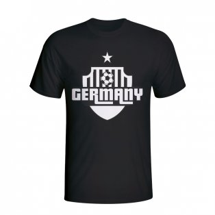 Germany Country Logo T-shirt (black)