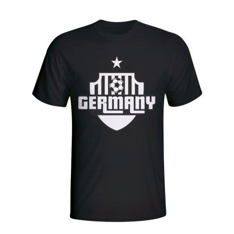 Germany Country Logo T-shirt (black)