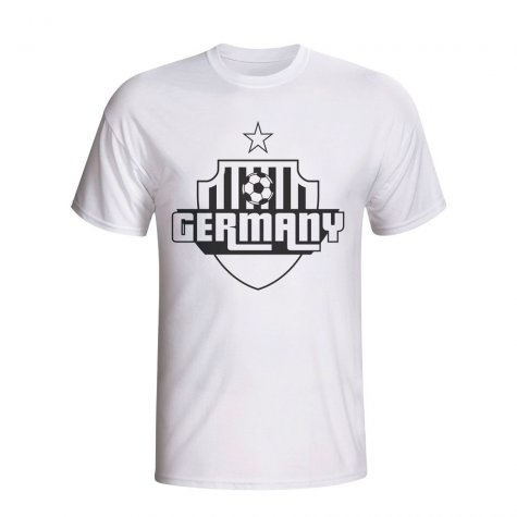 Germany Country Logo T-shirt (white)