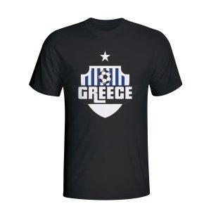 Greece Country Logo T-shirt (black)