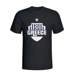 Greece Country Logo T-shirt (black) - Kids