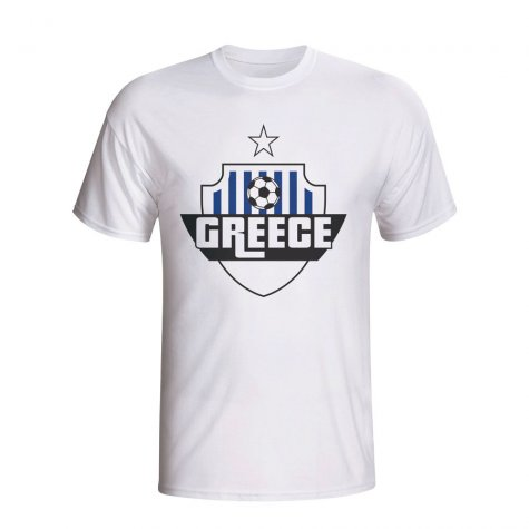Greece Country Logo T-shirt (white)