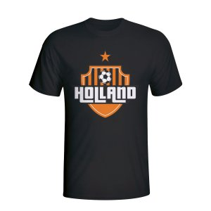 Holland Country Logo T-shirt (black)