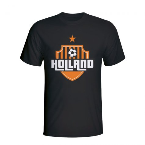 Holland Country Logo T-shirt (black) - Kids