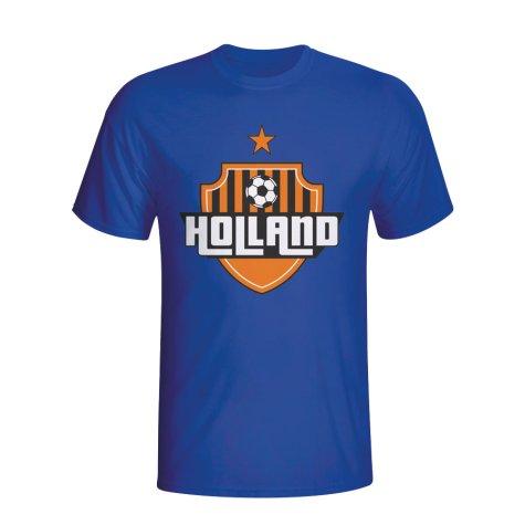Holland Country Logo T-shirt (blue) - Kids