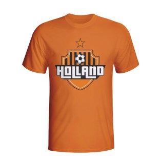 Holland Country Logo T-shirt (orange) - Kids