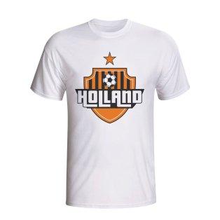 Holland Country Logo T-shirt (white) - Kids