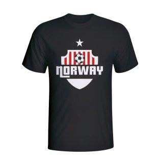 Norway Country Logo T-shirt (black) - Kids