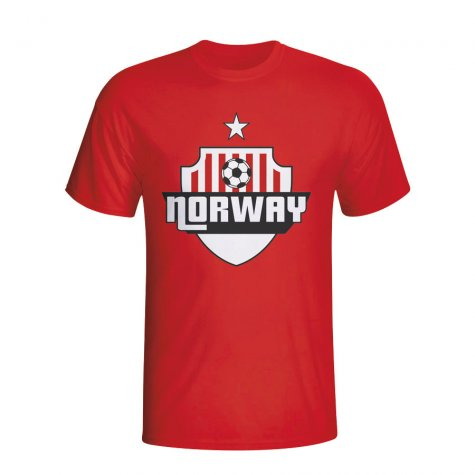 Norway Country Logo T-shirt (red)