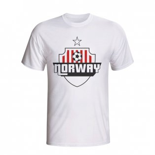 Norway Country Logo T-shirt (white) - Kids