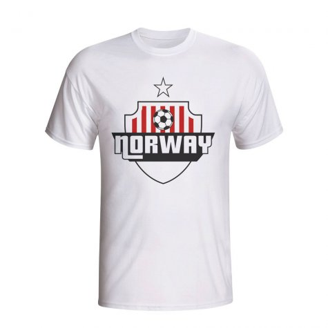 Norway Country Logo T-shirt (white)