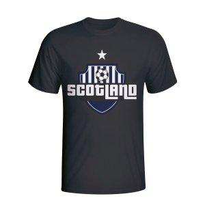 Scotland Country Logo T-shirt (black)