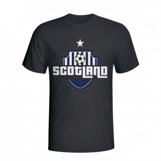Scotland Country Logo T-shirt (black)