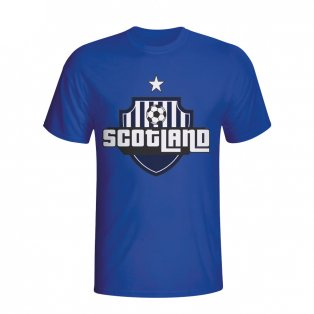 Scotland Country Logo T-shirt (blue) - Kids