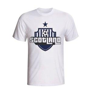 Scotland Country Logo T-shirt (white) - Kids