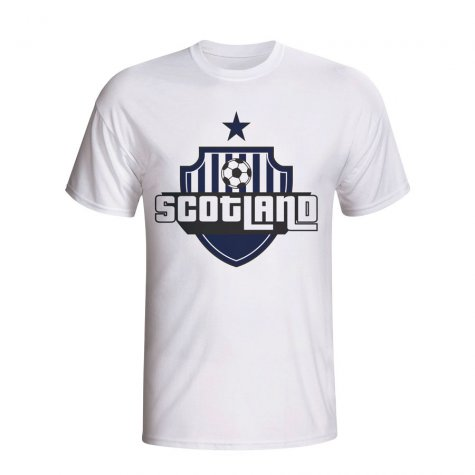 Scotland Country Logo T-shirt (white) - Kids
