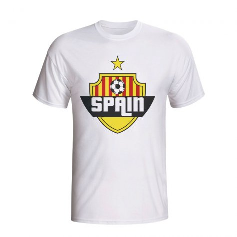 Spain Country Logo T-shirt (white) - Kids