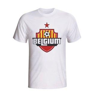 Belgium Country Logo T-shirt (white)