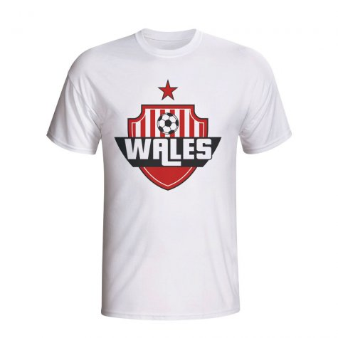 Wales Country Logo T-shirt (white) - Kids