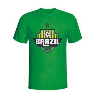 Brazil Country Logo T-shirt (green) - Kids