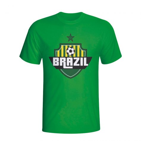 Brazil Country Logo T-shirt (green)